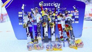 Snowboard: le duo Caviezel/Kummer 3e du slalom parallèle par équipes de Bad Gastein