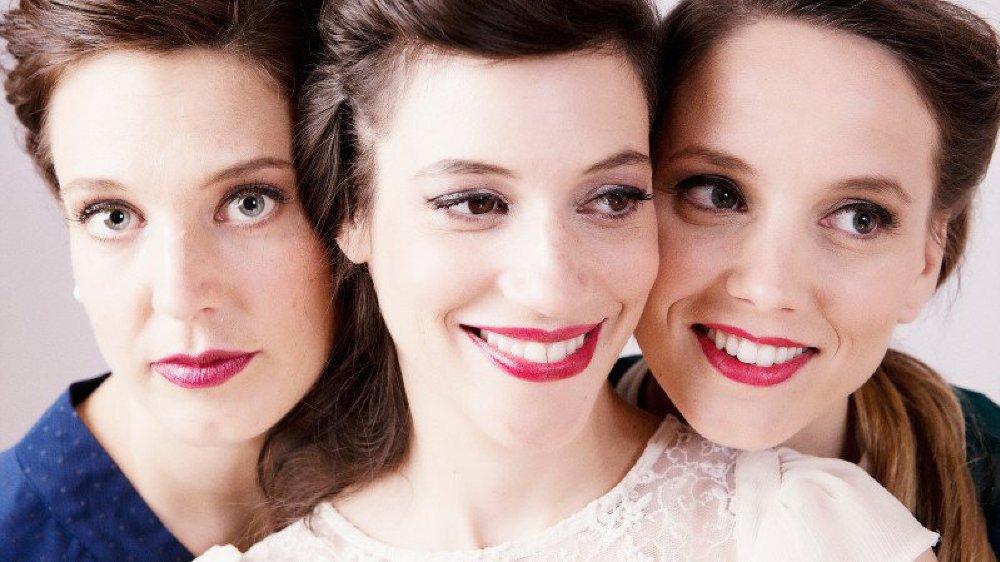 """Les trois """"Ladies"""" vont faire swinguer le théâtre de Grand-Champ ce jeudi, spécialement pour vous!"""