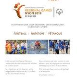 Régional Games Special Olympics Switzerland