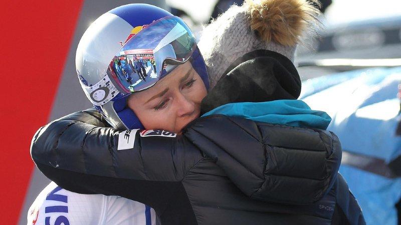 Ski alpin: après avoir évoqué une fin de carrière prématurée, Lindsey Vonn espère terminer la saison