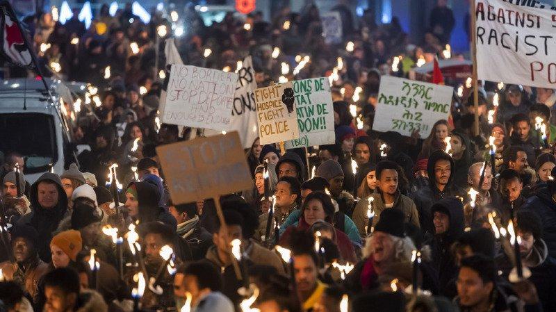 Plus de 200 personnes à Genève contre les nouvelles procédures d'asile