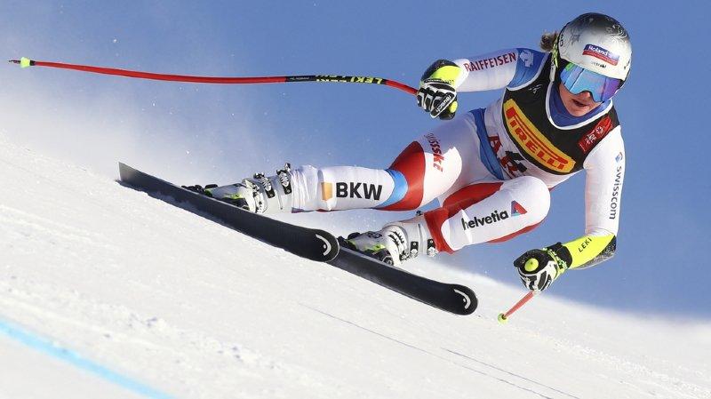 Ski alpin - Mondiaux d'Are: médaille de bronze en Super-G pour Corinne Suter, Mikaela Shiffrin en or