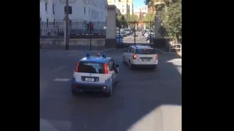 Rugby: l'escorte policière italienne fait mourir de rire les joueurs irlandais