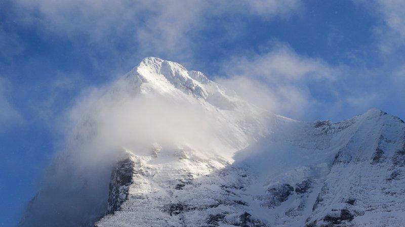 Accident de montagne: décès d'un alpiniste lors de l'ascension de l'Eiger (BE)