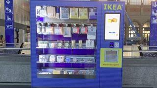 Besoin d'une ampoule, d'un cadre photo? Ikea installe un automate dans les gares suisses