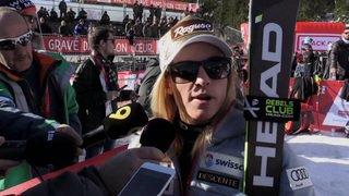 Ski alpin: Lara Gut-Behrami s'exprime avant la descente de samedi à Crans-Montana