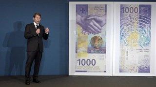 Voici le nouveau billet de 1000 francs