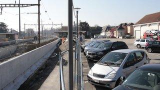 Rolle: tout le monde n'a pas le droit de se parquer à la gare
