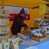 Jour de marché organisé par les agricultrices de Gimmelwald
