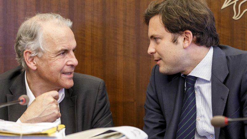 Rémy Pagani et Guillaume Barazzone: ce dernier avait été épinglé pour des frais excessifs.