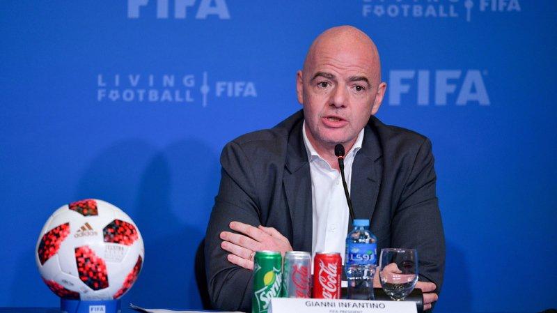 Football - Coupe du monde 2022: jusqu'à 6 matches par jour en cas de compétition à 48 équipes