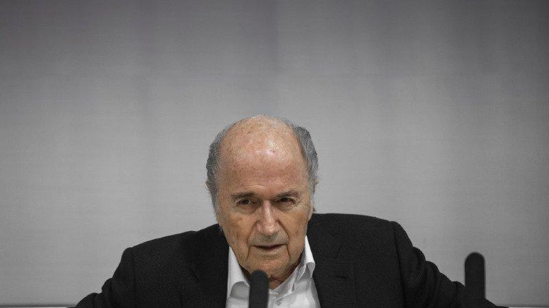 Football: l'ex-président de la FIFA Sepp Blatter a été entendu par le MPC