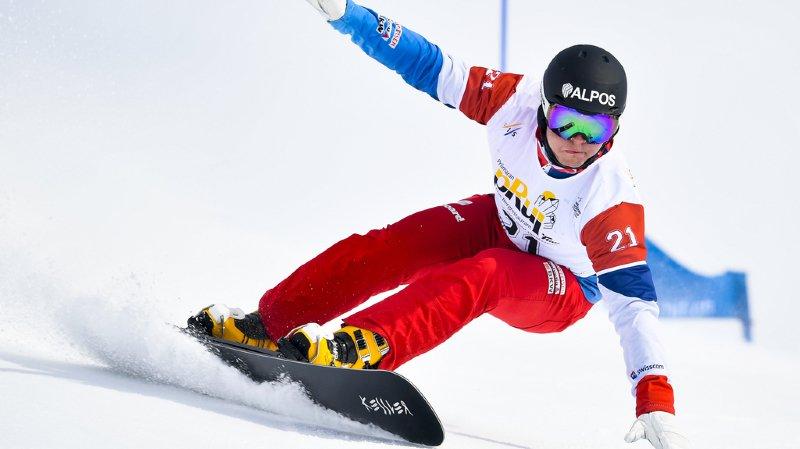 Snowboard - Coupe du monde: un podium pour le Grison Dario Caviezel