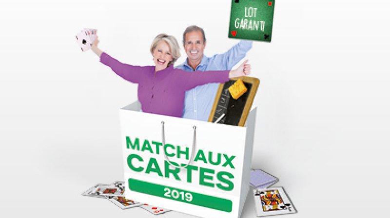 Match aux cartes - Lot garanti !