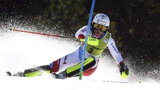 Ski alpin: Wendy Holdener termine deuxième du slalom des finales de Soldeu, le Globe à Mikaela Shiffrin