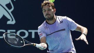 Tennis: Stan Wawrinka éliminé au deuxième tour du tournoi de Miami