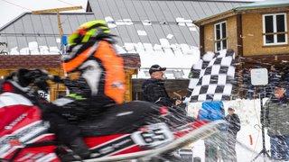 Saint-Cergue: les Championnats de Suisse de snowcross