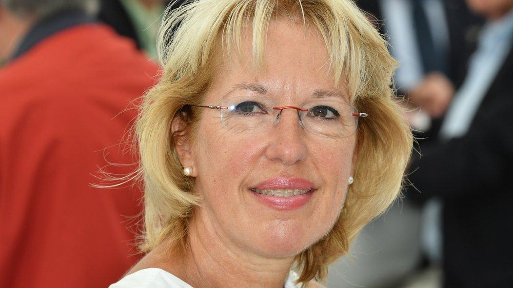 Jacqueline de Quattro a répondu à l'invitation de l'Arcam. Elle était à Montricher jeudi.