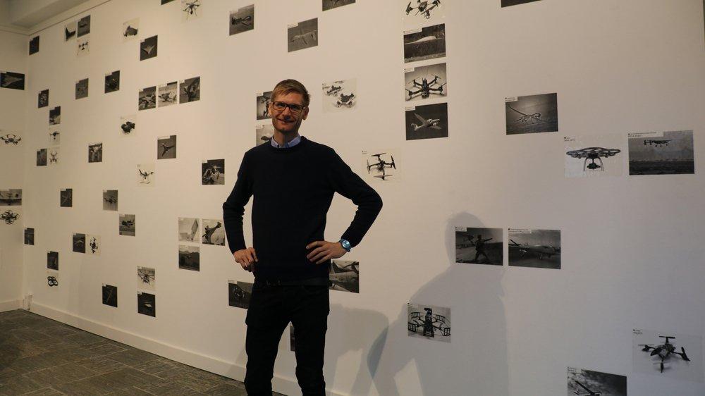 Rob van Leijsen expose à l'espace Eeeeh! jusqu'au 13 avril.