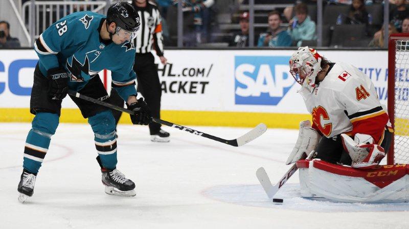Hockey - NHL: l'Appenzellois Timo Meier n'arrête plus de marquer, déjà 66 points au compteur