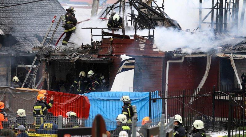 Chili: un petit avion s'écrase sur une maison, six morts