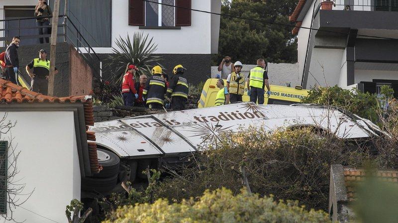 Portugal: un bus touristique sort de route sur l'île de Madère, au moins 28 morts