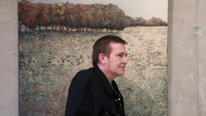 Le peintre de Begnins Nicolas Fossati fête 25 ans de peinture
