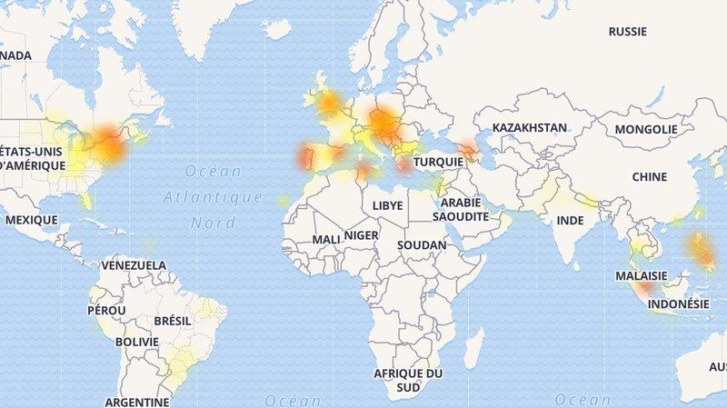 Une panne frappe Facebook, Instagram et WhatsApp dans le monde entier