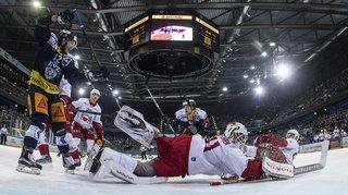 Hockey: Bienne reprend l'avantage face à Berne, Lausanne s'incline contre Zoug