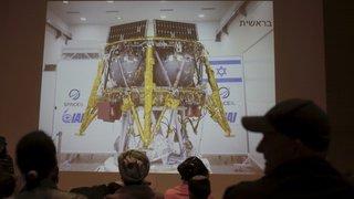 Espace: Bereshit, la première sonde lunaire israélienne, s'est écrasée en se posant