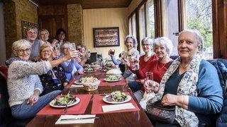 Les seniors de Saint-Cergue savourent les plaisirs de la Table
