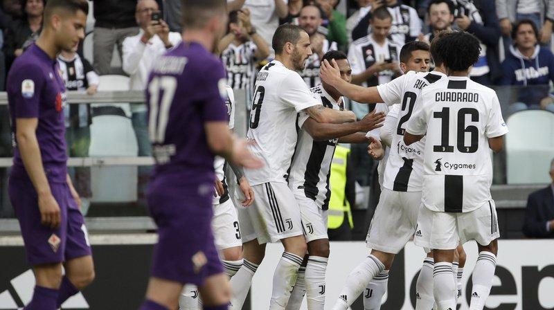 Les Turinois ont remporté leur huitième titre consécutif de champions d'Italie grâce à leur victoire 2-1 contre la Fiorentina.
