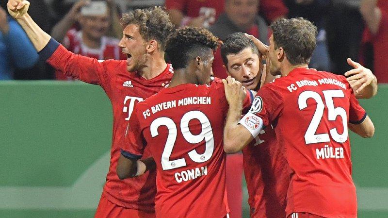 Football - Coupe d'Allemagne: le Bayern se fait peur mais sera en finale