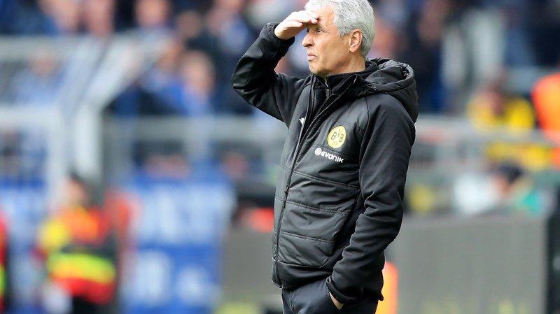 Football: le Vaudois Lucien Favre sera encore entraîneur du Borussia Dortmund la saison prochaine