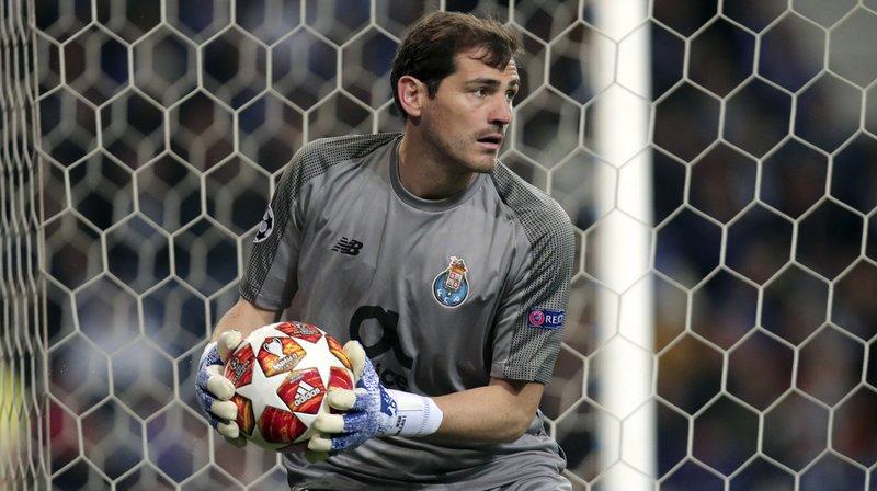Le gardien du FC Porto Iker Casillas pourrait sortir de l'hôpital lundi