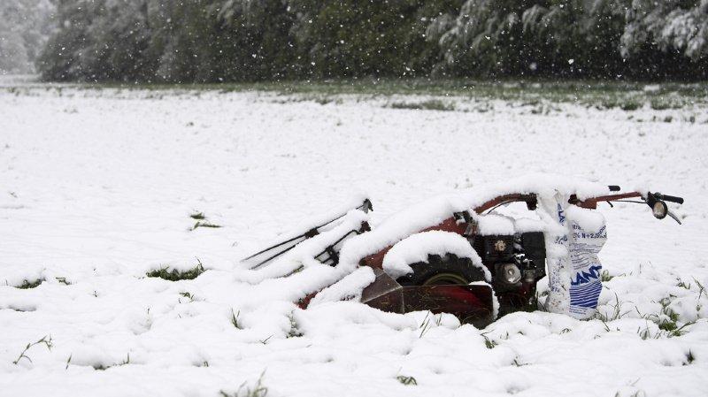 Météo: la neige a fait un retour marqué à basse altitude un peu partout en Suisse