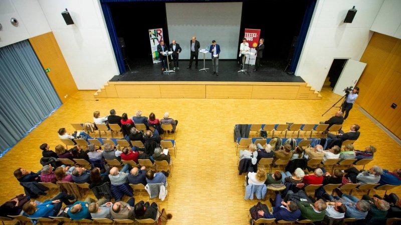 Le débat organisé par La Côte et NRTV a fait le plein ce lundi soir au Centre des Morettes.