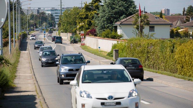 Les travaux à la route de l'Etraz, au niveau de Prangins, dureront huit mois.