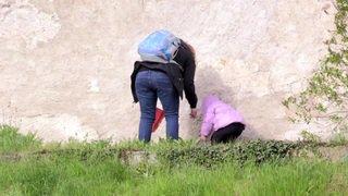 Fribourg: une chasse aux œufs dans le château de Gruyère