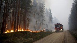 Scandinavie: les premiers feux de forêt font craindre un nouvel été de cendres