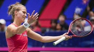 Tennis - Fed Cup: la Suisse battue par les Etats-Unis en barrage du groupe mondial I