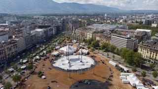 Le Cirque du Soleil dresse son chapiteau à Genève