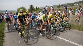 Tour de Romandie à Morges: attention les vélos!