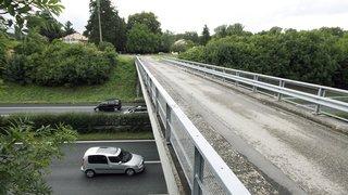Saint-Prex: A1 partiellement fermée en raison de la démolition du pont des Iles
