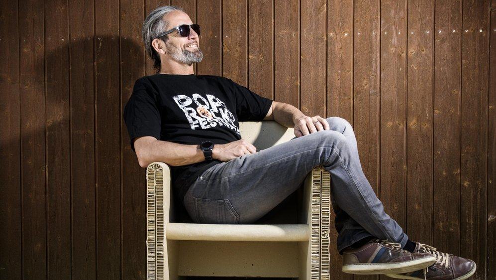 Gianni Marchi est un rocker dans l'âme, on le retrouvera bientôt sur scène!