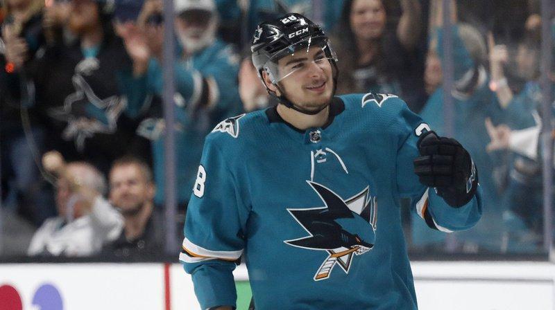 Timo Meier et les San Jose Sharks se retrouvent le dos au mur en demi-finales des play-off de NHL.