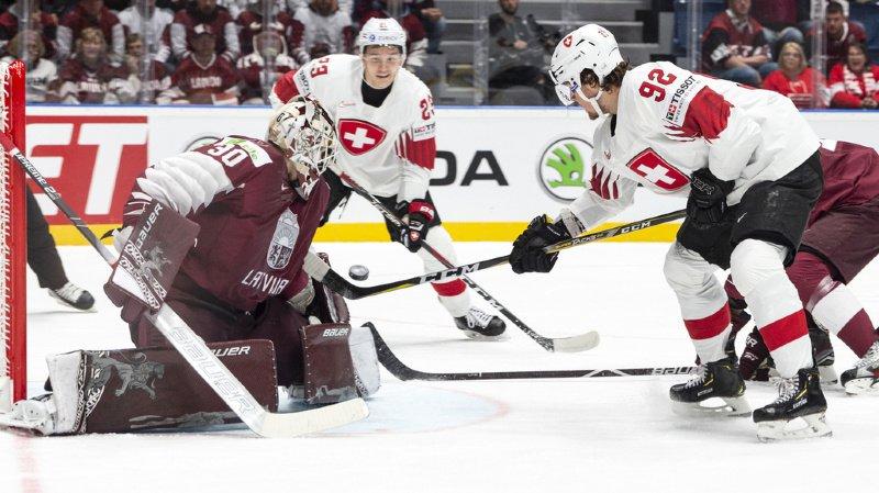 Hockey - Mondiaux 2019: la Suisse bat la Lettonie 1-3