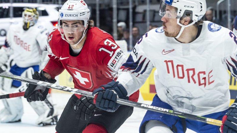 Hockey – Mondiaux 2019: la Suisse poursuit son sans-faute en battant la Norvège