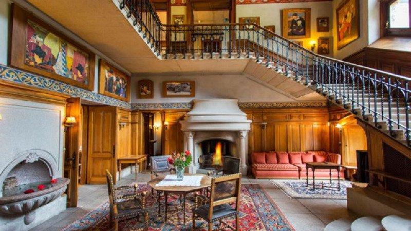 Visite guidée de l'intérieur du Château Mercier