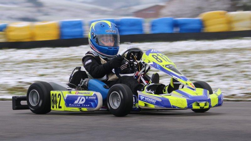 Arzier: double succès pour le jeune Arnaud Voutat